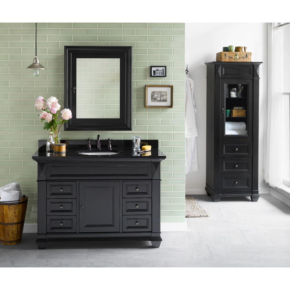 Bathroom Vanities Traditional Black | Aspire Design Showroom ...